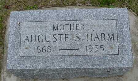 HARM, AUGUSTE S. - Woodbury County, Iowa   AUGUSTE S. HARM
