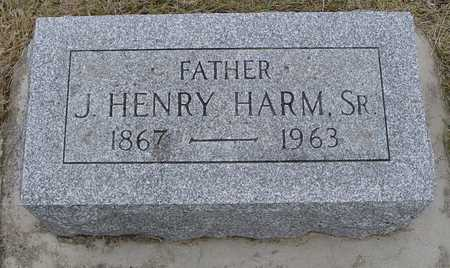HARM, J. HENRY SR. - Woodbury County, Iowa | J. HENRY SR. HARM