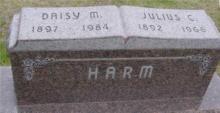 HARM, JULIUS & DAISY - Woodbury County, Iowa | JULIUS & DAISY HARM