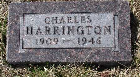 HARRINGTON, CHARLES - Woodbury County, Iowa | CHARLES HARRINGTON