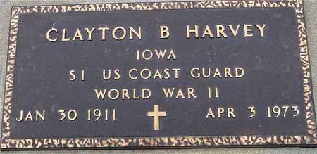 HARVEY, CLAYTON B. - Woodbury County, Iowa   CLAYTON B. HARVEY