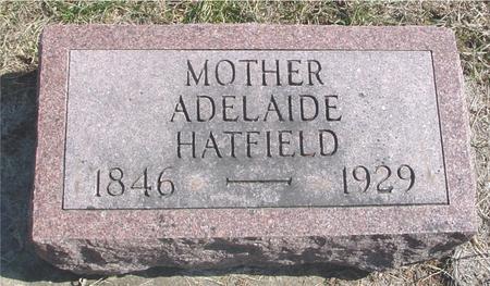 HATFIELD, ADELAIDE - Woodbury County, Iowa | ADELAIDE HATFIELD