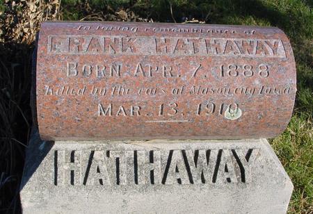 HATHAWAY, FRANK - Woodbury County, Iowa | FRANK HATHAWAY