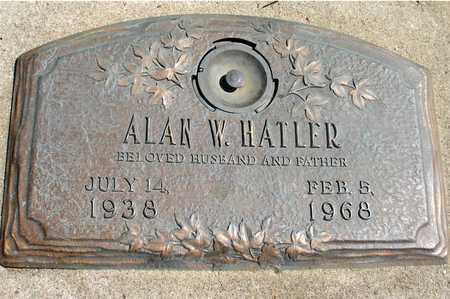 HATLER, ALAN W. - Woodbury County, Iowa | ALAN W. HATLER