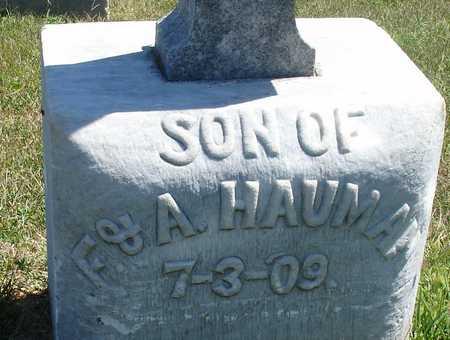 HAUMAN, SON - Woodbury County, Iowa   SON HAUMAN