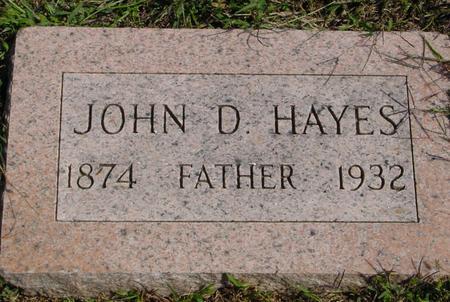 HAYES, JOHN D. - Woodbury County, Iowa | JOHN D. HAYES