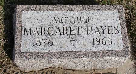 HAYES, MARGARET - Woodbury County, Iowa | MARGARET HAYES