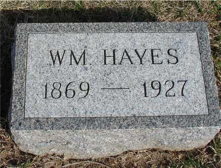HAYES, WILLIAM - Woodbury County, Iowa | WILLIAM HAYES