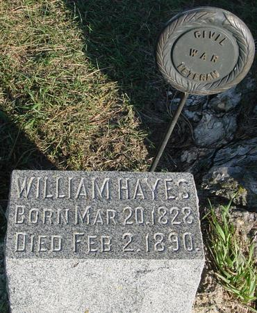 HAYES, WILLIAM - Woodbury County, Iowa | WILLIAM HAYES