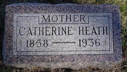 HEATH, CATHERINE - Woodbury County, Iowa | CATHERINE HEATH