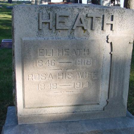HEATH, ELI JACKSON - Woodbury County, Iowa | ELI JACKSON HEATH
