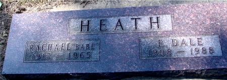 HEATH, E. DALE & RACHAEL - Woodbury County, Iowa | E. DALE & RACHAEL HEATH