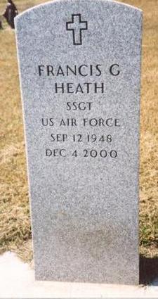 HEATH, FRANCIS G. - Woodbury County, Iowa   FRANCIS G. HEATH