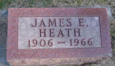 HEATH, JAMES E. - Woodbury County, Iowa   JAMES E. HEATH