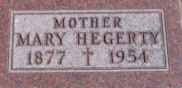 HEGARTY, MARY - Woodbury County, Iowa | MARY HEGARTY