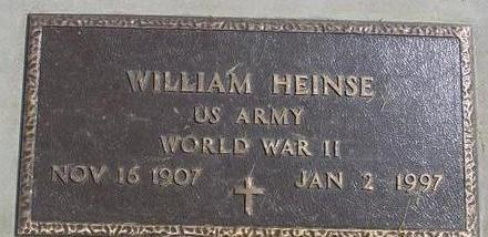 HEINSE, WILLIAM - Woodbury County, Iowa | WILLIAM HEINSE