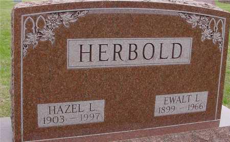HERBOLD, EWALT & HAZEL L. - Woodbury County, Iowa | EWALT & HAZEL L. HERBOLD