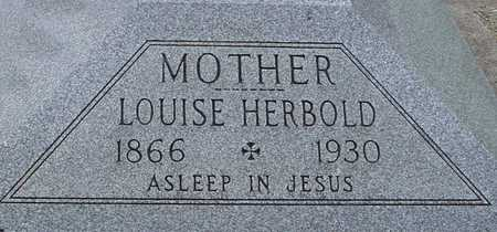 HERBOLD, LOUISE - Woodbury County, Iowa   LOUISE HERBOLD