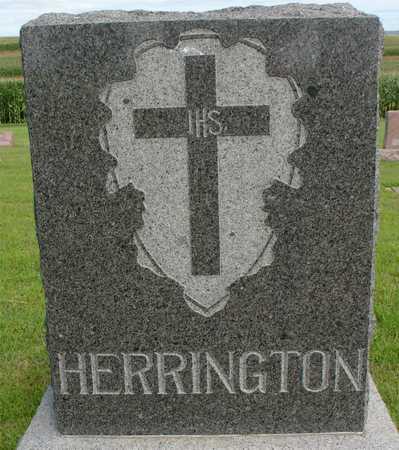 HERRINGTON, FAMILY MARKER - Woodbury County, Iowa | FAMILY MARKER HERRINGTON