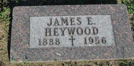 HEYWOOD, JAMES E. - Woodbury County, Iowa | JAMES E. HEYWOOD