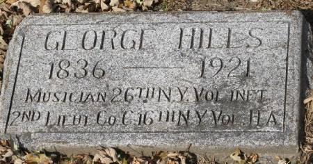 HILLS, GEORGE - Woodbury County, Iowa   GEORGE HILLS