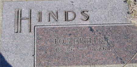 HINDS, JOSEPHINE - Woodbury County, Iowa | JOSEPHINE HINDS