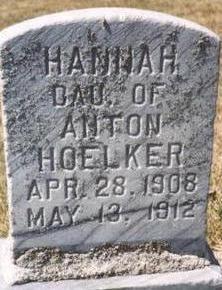 HOELKER, HANNAH - Woodbury County, Iowa   HANNAH HOELKER