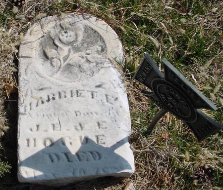 HOGUE, HARRIET E. - Woodbury County, Iowa | HARRIET E. HOGUE