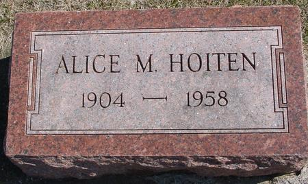 HOITEN, ALICE - Woodbury County, Iowa | ALICE HOITEN