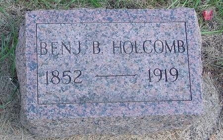 HOLCOMB, BENJ. B. - Woodbury County, Iowa | BENJ. B. HOLCOMB