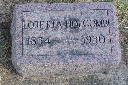 HOLCOMB, LORETTA - Woodbury County, Iowa | LORETTA HOLCOMB