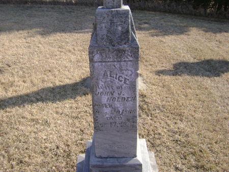 HOLDEN, ALICE - Woodbury County, Iowa | ALICE HOLDEN