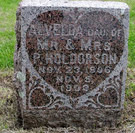 HOLDORSON, ALVELDA - Woodbury County, Iowa | ALVELDA HOLDORSON