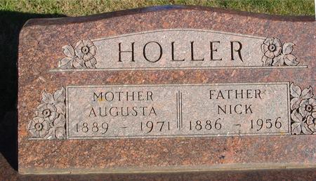 HOLLER, NICK & AUGUSTA - Woodbury County, Iowa | NICK & AUGUSTA HOLLER