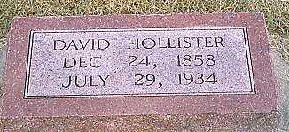 HOLLISTER, DAVID - Woodbury County, Iowa | DAVID HOLLISTER