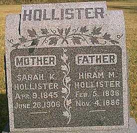 HOLLISTER, HIRAM M. - Woodbury County, Iowa | HIRAM M. HOLLISTER