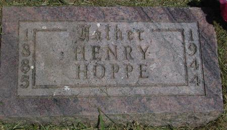 HOPPE, HENRY - Woodbury County, Iowa | HENRY HOPPE