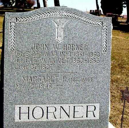 HORNER, JOHN WILEY - Woodbury County, Iowa | JOHN WILEY HORNER