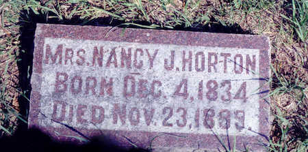 BROWN HORTON, NANCY - Woodbury County, Iowa   NANCY BROWN HORTON