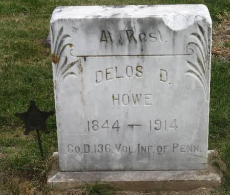 HOWE, DELOS D. - Woodbury County, Iowa | DELOS D. HOWE