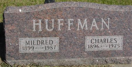 HUFFMAN, CHARLES & MILDRED - Woodbury County, Iowa | CHARLES & MILDRED HUFFMAN