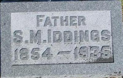 IDDINGS, S. M. - Woodbury County, Iowa | S. M. IDDINGS