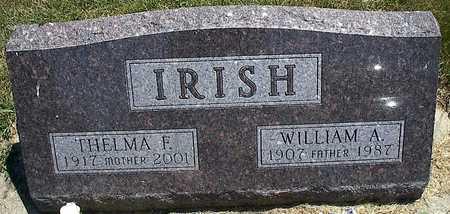 IRISH, WILLIAM - Woodbury County, Iowa   WILLIAM IRISH