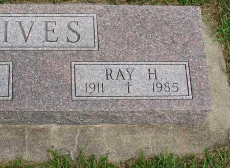IVES, RAY H. - Woodbury County, Iowa   RAY H. IVES