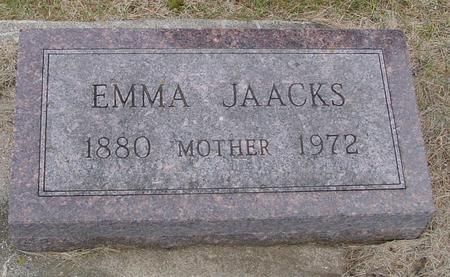JAACKS, EMMA - Woodbury County, Iowa | EMMA JAACKS