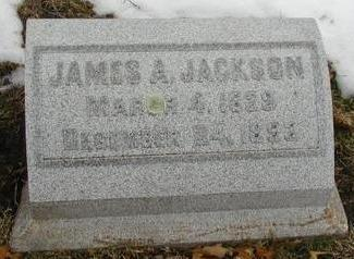 JACKSON, JAMES A - Woodbury County, Iowa | JAMES A JACKSON