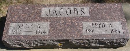 JACOBS, FRED & SADIE - Woodbury County, Iowa | FRED & SADIE JACOBS