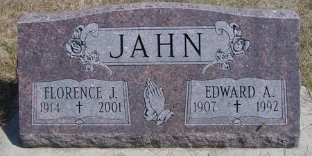 JAHN, EDWARD & FLORENCE - Woodbury County, Iowa   EDWARD & FLORENCE JAHN
