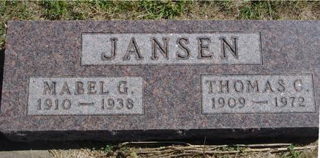 JANSEN, THOMAS & MABEL - Woodbury County, Iowa | THOMAS & MABEL JANSEN