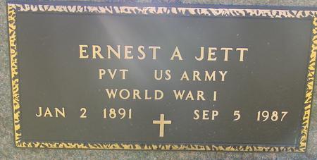 JETT, ERNEST A. - Woodbury County, Iowa | ERNEST A. JETT